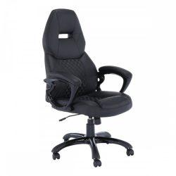 HEVYR Irodai szék fekete ekobőr