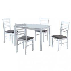 BRISBO Étkező szett : 1x asztal / 4x szék, több színben