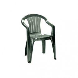 Sicilia kartámaszos műanyag kerti szék