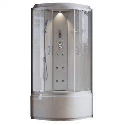 Léna DEEP White elektronikás hidromasszázs zuhanykabin