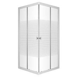 Lara 90x90 cm szögletes zuhanykabin zuhanytálca nélkül