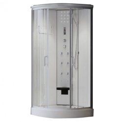 Eponin ONE White elektronikás hidromasszázs zuhanykabin