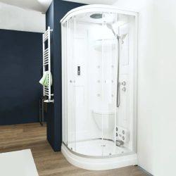 Liza akril hátfalas hidromasszázs zuhanykabin