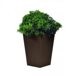 Rattan Planter L virágtartó