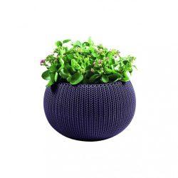 Cozy M virágtartó függeszthető szettel, sötét lila