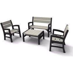 WLF Bench set kerti bútor garnitúra