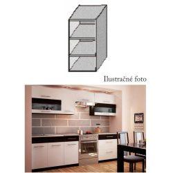 30 cm Polcos szekrény Jura new-B konyhablokkhoz