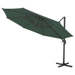 Kazuar zöld kerti napernyő 3 M