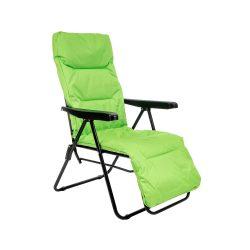 Mogan kerti szék lime színben