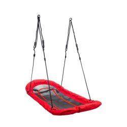 Csónak hinta gyermekek számára, piros