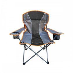 Grafit-narancs kerti szék