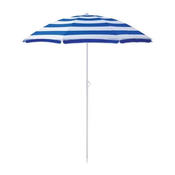 160 cm-es csíkos strand napernyő