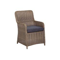 Sicily fémvázas kerti szék