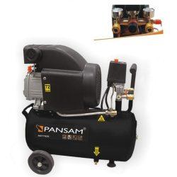 Olajkenéses kompresszor 1500W, 8atm, 24liter, 200l/min, két manométer, két gyorszáras