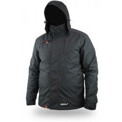Téli bélelt dzseki, kihúzható kapucni, méret M