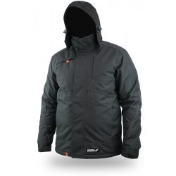 Téli bélelt dzseki, kihúzható kapucni, méret XXL