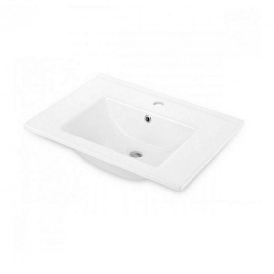 FLOKS bútorra szerelhető porcelán mosdó