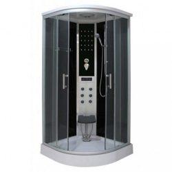 Dream 90x90 cm íves hidromasszázs zuhanykabin