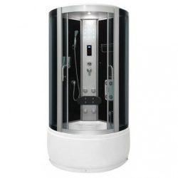 CLAIRE 90x90 cm íves hidromasszázs zuhanykabin
