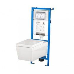 COLINE-SET falba építhető WC tartály szettben Coline WC-vel