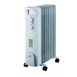 Olajjal töltött fűtő 2000W + ventilátor 400W