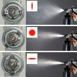 Elektromos festékszóró pisztoly HVLP 700W, 1liter