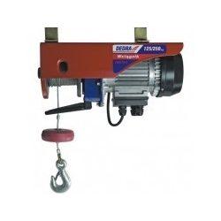 Elektromos csörlő 1,0kW, 6m/400kg, 12m/200kg