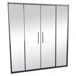 LUCIS LINE két irányú eltolható ajtó fix fallal 150x200 cm