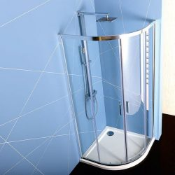 POLYSAN EASY LINE íves zuhanykabin zuhanytálca nélkül