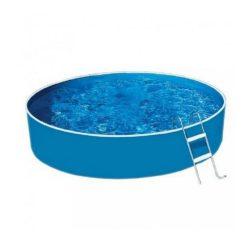 Lagoon Basic fémvázas kerek medence, homokszűrővel, misty fóliás 360x90 cm