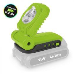 FDUL 50901-0 Akkumlátoros lámpa Li-ion 18 V AKKUMLÁTOR NÉLKÜL