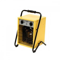 Hordozható ventilátoros fűtőtest, 5000 W, IPX4