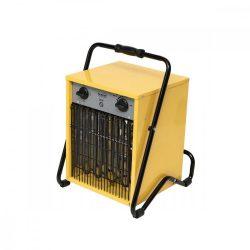 Hordozható ventilátoros fűtőtest, 9000 W, IPX4