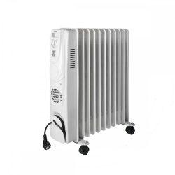 Olajradiátor beépített ventilátoros fűtőtesttel