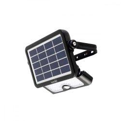 Szolár paneles LED reflektor, mozgásérzékelős 5 W 500 LM