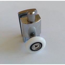 Zuhanykabin görgő szimpla fém (G-30SM)