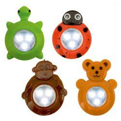 Gyermek LED elemlámpa