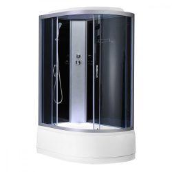 Cora 80x120 cm mélytálcás zuhanykabin