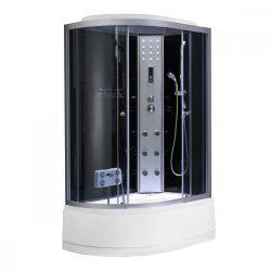 Lia 80x120 cm hidromasszázs zuhanykabin