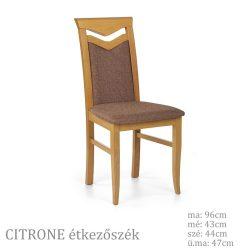 Citrone fa étkező szék