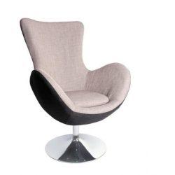 BUTTERFLY popiel fotel