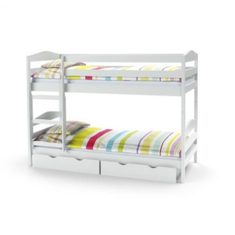 Sam Emeletes ágy Fehér