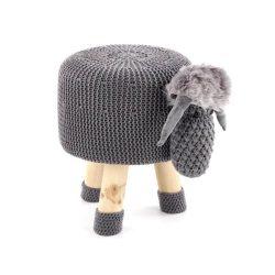 Dolly 1 szürke bárányos puff