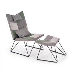 Remix fotel lábtartóval