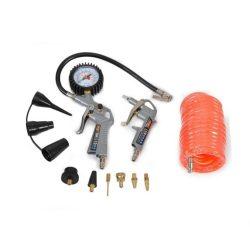 Hecht 002026 pisztoly, adapter és 5m tömlő