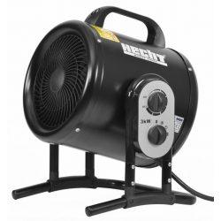 Hecht 3422 hősugárzó ventillátorral és termosztáttal