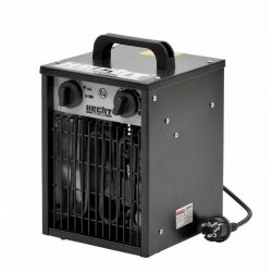 Hecht 3502 hősugárzó ventillátorral és termosztáttal