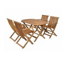 Hecht Basic set 4 fa kerti bútor garnitúra