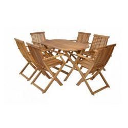 Hecht Basic set 6 fa kerti bútor garnitúra