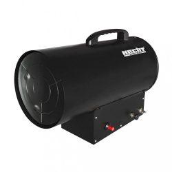 Hecht 3016 gázos hőlégbefúvó tömlővel és gázreduktorral